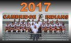 Cambridge Indians Boys Varsity Football Fall 17-18 team photo.