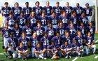 Emerald Vikings Boys Varsity Football Fall 17-18 team photo.