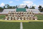 Saint Stephen's Episcopal Falcons Boys Varsity Football Fall 17-18 team photo.
