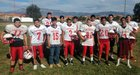 Menaul Panthers Boys Varsity Football Fall 17-18 team photo.