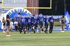 Meridian Wildcats Boys Varsity Football Fall 17-18 team photo.