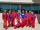 West Mesa Mustangs Girls Varsity Tennis Spring 17-18 team photo.