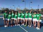 Albuquerque Bulldogs Girls Varsity Tennis Spring 17-18 team photo.