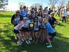 Valor Christian Eagles Girls Varsity Tennis Spring 17-18 team photo.
