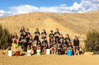 Farmington Scorpions Girls Varsity Tennis Spring 17-18 team photo.