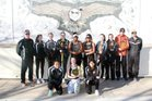 Eldorado Eagles Girls Varsity Tennis Spring 17-18 team photo.