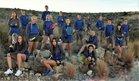 Carlsbad Cavemen Girls Varsity Tennis Spring 17-18 team photo.