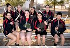 New Mexico Military Institute Colts Girls Varsity Tennis Spring 17-18 team photo.