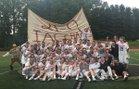 Landon Bears Boys Varsity Lacrosse Spring 17-18 team photo.