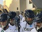 Calvary Christian Academy Eagles Boys Varsity Lacrosse Spring 17-18 team photo.