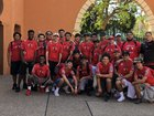 Immokalee Indians Boys Varsity Lacrosse Spring 17-18 team photo.