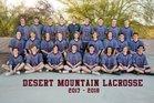Desert Mountain Wolves Boys Varsity Lacrosse Spring 17-18 team photo.