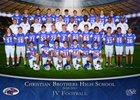 Christian Brothers Falcons Boys JV Football Fall 18-19 team photo.