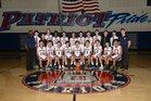 Beckman Patriots Boys Freshman Basketball Winter 18-19 team photo.