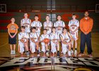 Eldorado Eagles Boys Freshman Basketball Winter 18-19 team photo.