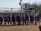 Lonoke Jackrabbits Girls Varsity Soccer Spring 17-18 team photo.