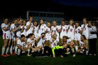 Glenwood Springs Demons Girls Varsity Soccer Spring 17-18 team photo.