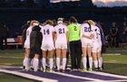Lutheran Lions Girls Varsity Soccer Spring 17-18 team photo.