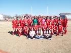 Dardanelle Sand Lizards Girls Varsity Soccer Spring 17-18 team photo.