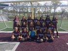 Morrilton Devil Dogs Girls Varsity Soccer Spring 17-18 team photo.