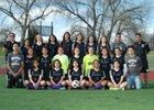Skyview Wolverines Girls Varsity Soccer Spring 17-18 team photo.