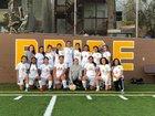 Mission Bears Girls Varsity Soccer Spring 17-18 team photo.