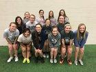 Searcy Lions Girls Varsity Soccer Spring 17-18 team photo.