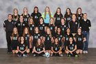 Woodstock North Thunder Girls Varsity Soccer Spring 17-18 team photo.