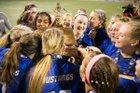 Millard North Mustangs Girls Varsity Soccer Spring 17-18 team photo.
