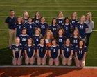 Rogers Heritage War Eagles Girls Varsity Soccer Spring 17-18 team photo.