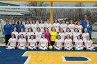 Mountain Home Bombers Girls Varsity Soccer Spring 17-18 team photo.