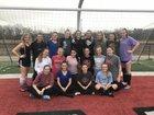Maumelle Hornets Girls Varsity Soccer Spring 17-18 team photo.