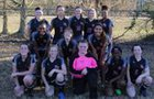 White Hall Bulldogs Girls Varsity Soccer Spring 17-18 team photo.