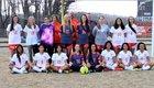 Starmount Rams Girls Varsity Soccer Spring 17-18 team photo.
