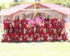 Arkansas Razorbacks Girls Varsity Soccer Spring 17-18 team photo.