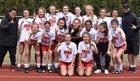 Juneau-Douglas Crimson Bears Girls Varsity Soccer Spring 17-18 team photo.