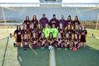 Windsor Wizards Girls Varsity Soccer Spring 17-18 team photo.