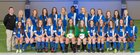 Conway Wampus Cats Girls Varsity Soccer Spring 17-18 team photo.