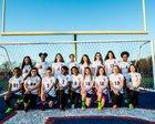 West Memphis Blue Devils Girls Varsity Soccer Spring 17-18 team photo.