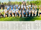 James River Rapids Girls Varsity Soccer Spring 17-18 team photo.
