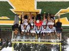 Mills University Studies Comets Girls Varsity Soccer Spring 17-18 team photo.