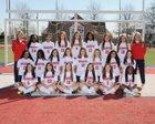 Marion Patriots Girls Varsity Soccer Spring 17-18 team photo.