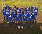 Decatur Bulldogs Girls Varsity Soccer Spring 17-18 team photo.