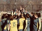 Thomas Jefferson Spartans Girls Varsity Soccer Spring 17-18 team photo.