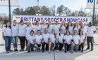 White Oak Vikings Girls Varsity Soccer Spring 17-18 team photo.