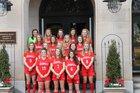 Greenville Red Raiders Girls Varsity Soccer Spring 17-18 team photo.