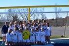 Pine Lake Preparatory Pride Girls Varsity Soccer Spring 17-18 team photo.
