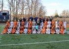 West Springfield Spartans Girls Varsity Soccer Spring 17-18 team photo.
