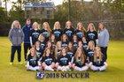 First Flight Nighthawks Girls Varsity Soccer Spring 17-18 team photo.