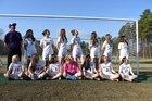 Oxford Preparatory Griffins Girls Varsity Soccer Spring 17-18 team photo.